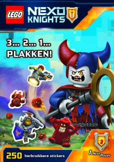LEGO® NEXO KNIGHTS™ stickerboek