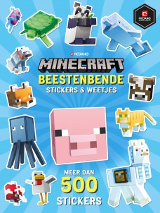 Minecraft stickerboek: Beestenbende