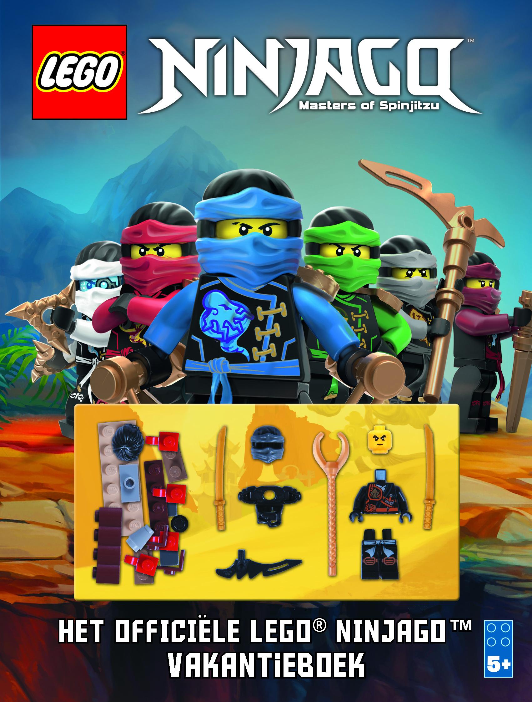 LEGO® NINJAGO® vakantieboek - Meis & Maas