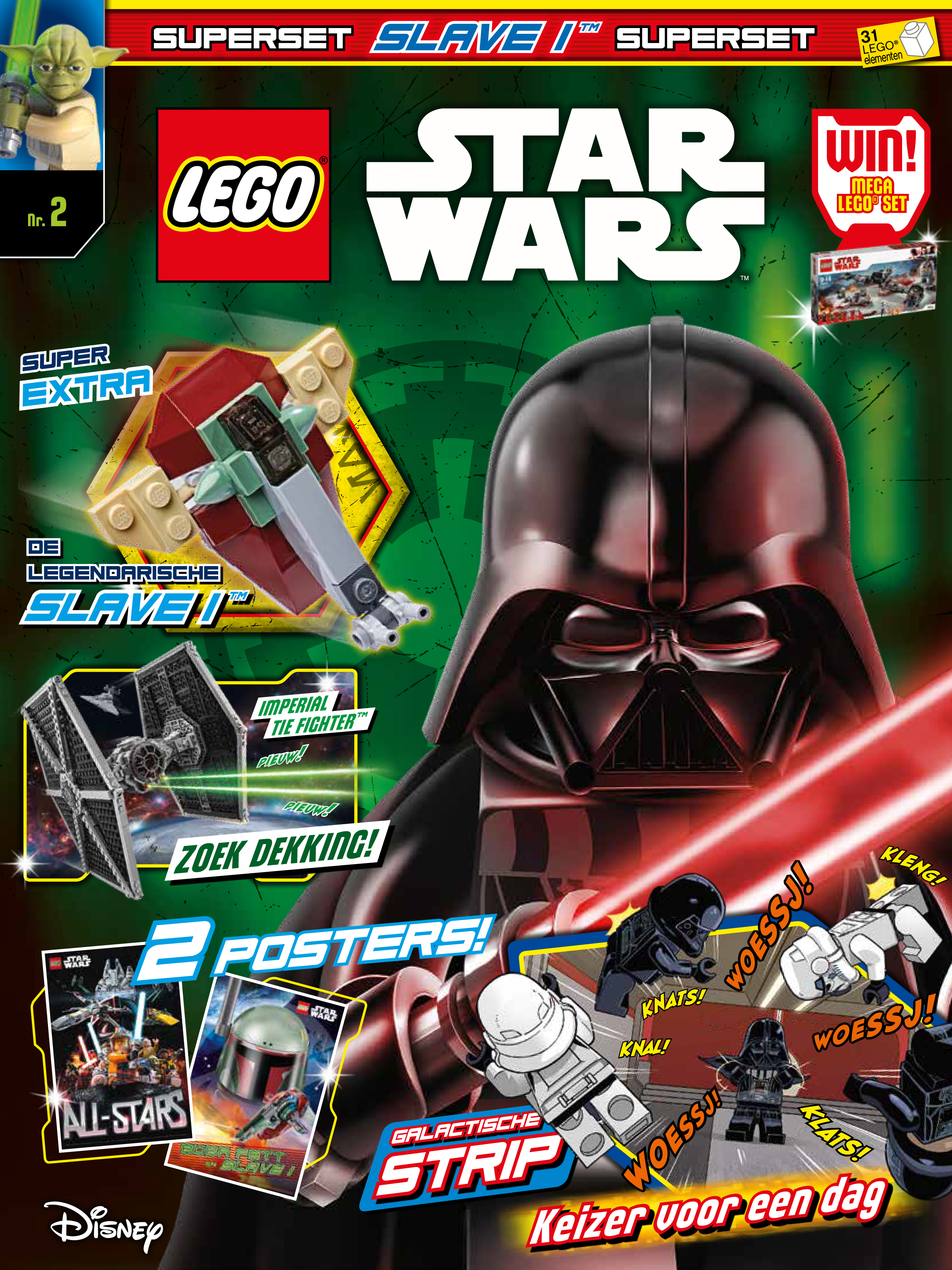 Kleurplaten Lego Star.Lego Star Wars Magazine Meis Maas